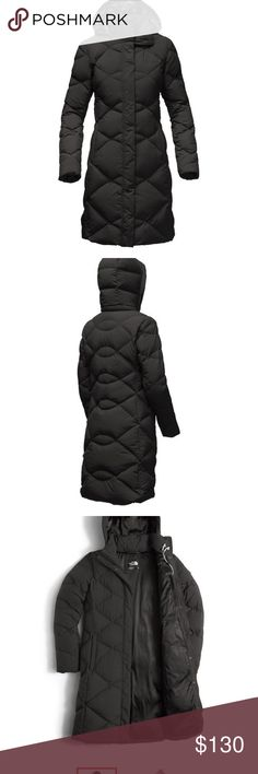 """The North Face Miss Metro Parka XS The North Face Miss Metro Parka XS Shoulder to hem 34"""" Arm length 23"""" Shoulder 14"""" Waist across 15"""" Detachable Collar The North Face Jackets & Coats Puffers"""