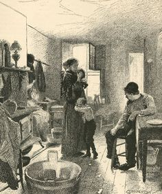 """""""Life in New York Tenement-Houses"""", as seen by a city missionary 1892"""