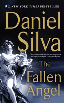 The Fallen Angel, by Daniel Silva  Find it at the library: http://alpha2.suffolk.lib.ny.us/record=b4501996~S29