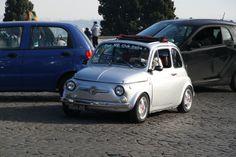 Fiat 500, Gianicolo, Rome, 2013.