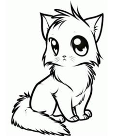 Cute Cat Drawing How To Draw A Cute Anime Cat Step Step Anime Animals Anime photo, Cute Cat Drawing How To Draw A Cute Anime Cat Step Step Anime Animals Anime image, Cute Cat Drawing How To Draw A Cute Anime Cat Step Step Anime Animals Anime gallery Cartoon Drawings Of Animals, Cute Animal Drawings, Anime Animals, Cute Drawings, Drawing Sketches, Cute Animals, Pencil Drawings, Drawing Ideas, Animals Sea