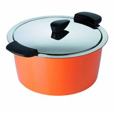 Kuhn Rikon 3Quart Hotpan Casserole Orange *** See this great product by click affiliate link Amazon.com