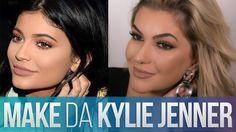 Kylie Jenner é um dos ícones de beleza da atualidade. Como ela geralmente usa uma maquiagem muito simples de fazer, resolvi reproduzi-la para vocês.