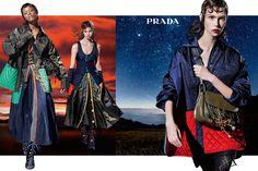 Prada Fall/Winter 2016 campaign, photographed by Steven Meisel Steven Meisel, Lindbergh, Miuccia Prada, Foto Fashion, Fashion 2016, Silhouette, Advertising Campaign, Fashion Advertising, Harpers Bazaar