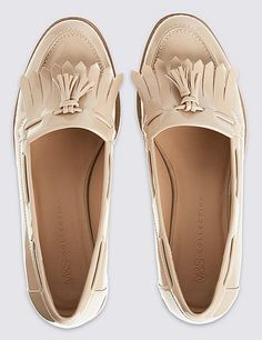 Block Heel Tassel Loafers | Marks & Spencer London