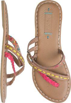 Name says it all - @ROXY MARDI GRAS SANDAL http://www.swell.com/Womens-View-All-Footwear/ROXY-MARDI-GRAS-SANDAL?cs=MU#