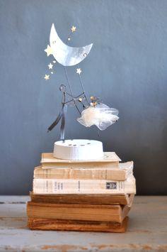 wedding cake topper  lebianchemargherite.blogspot.it