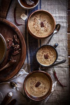 Roasted Pecan & Acorn Squash Soup