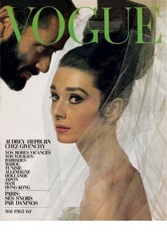 Audrey Hepburn (& husband Mel Ferré) by Bert Stern for French Vogue, 1963…