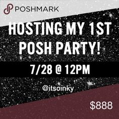 HOSTING MY FIRST POSH PARTY! I'm so excited and honored to be hosting my first posh party! It's going to be amazing! Theme will be announced soon! Please tag your PFF closets and I'll check them out for host picks during the party!  Longchamp Bags