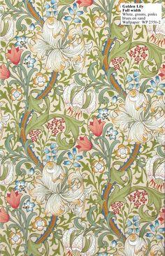 William Morris Golden Lily - WP 2556-2