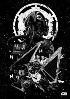 deathtrooper tie striker rogue one starwars pilots StarWars