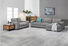 Bonza Fabric Corner Lounge Suite | Super Amart | House Furniture ...