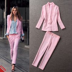 Trajes para mujer rosa 2016 2