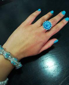 Proud of my Swarovski creations! Druzy Ring, Swarovski, Jewellery, My Love, Rings, Fashion, My Boo, Jewels, La Mode