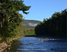 A view of the Catskill Mountains an Esopus Creek in Mt. Tremper, NY.