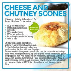 Cheese and chutney scones Healthy Eating Recipes, Healthy Meal Prep, Healthy Snacks, Healthy Life, Low Gi Foods, Eggless Recipes, Low Carb Breakfast, Breakfast Club, Gluten Free Snacks