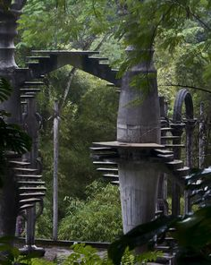 Stairways in the Jungle  Las Pozas, Mexico