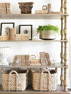 lovely shelves + styling (amy morris)