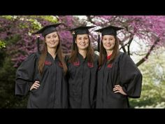 The Grace triplets - Erin, Kelly, and Shannon - will graduate from Radford University together on May 10, 2014, all earning their elementary education degrees from the College of Education and Human Development. Erin and Shannon reflect on their memories and inspirations.