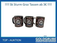 ❗️Sturm Graz Tassen❗️Weihnachtsgeschenke, die glücklich machen 👉 #sturm #sturmgraz #auktion #versteigerungen #goldgrube #wirbietenmehr #willbieten #weihnachten2020 #cashback Mugs, Tableware, Graz, Auction, Christmas Presents, Dinnerware, Tumblers, Tablewares, Mug