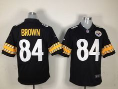 $22 for Men's Nike Pittsburgh Steelers #84 Brown Game Black Jersey. Buy Now! http://55usd.com/Men-s-Nike-Pittsburgh-Steelers--84-Brown-Game-Black-Jersey-productview-121117.html #Nike #NFL ##Pittsburgh_Steelers #84 #Brown #Jersey #55USD