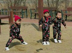 Song Il Gook, Superman Kids, Song Triplets, South Korea, Cute Kids, Little Ones, Asia, Korean, Actors
