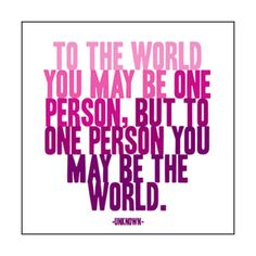 Love this!!! My sister Rina is my one person!!!