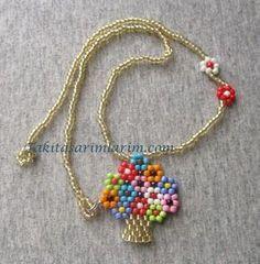 The Beading Gem's Journal: Easy Beaded Vase of Flowers Pendant Tutorial Seed Bead Jewelry, Bead Jewellery, Bead Earrings, Beaded Necklace, Beaded Bracelets, Pearl Jewelry, Necklaces, Jewelry Crafts, Handmade Jewelry