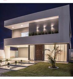 Best Modern House Design, Modern Exterior House Designs, Modern House Facades, Dream House Exterior, Modern Architecture House, Dream Home Design, Dream House Plans, Pavilion Architecture, Chinese Architecture