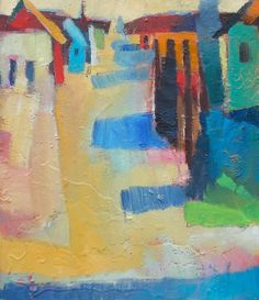 "Cumberland Alley VII 11"" x 12"" | Corre Alice"