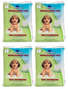 Advance Puppy  Dog Training Pads Set of Four  7 pads per bag 28 total pads >>> For more information, visit image link.(This is an Amazon affiliate link and I receive a commission for the sales)