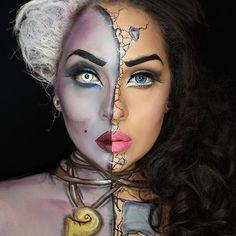 #ursula #ursulamakeup #seawitch #vanessa #thelittlemermaid #littlemermaidmakeup