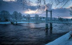 River Ness & Infirmary Bridge , Inverness