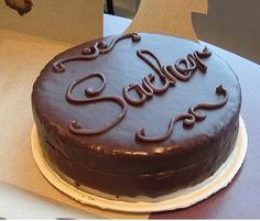 La torta Sacher ricetta originale | ItaliaSquisita.net