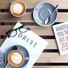 Coffee at @flowcoffee - image @nadyaesmeralda  #acmecups #specialtycoffee #driftmag #acmeforlife