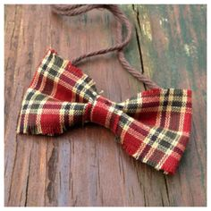 Newborn Bow Tie Photo Prop / Christmas by PetiteBoutiqueNJ on Etsy, $6.00