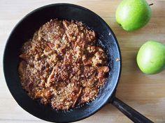 Makuja kotoa: Caramel Apple Crisp