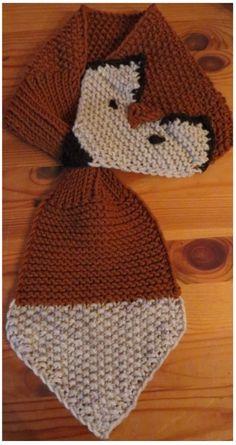 Fuchs-Schal für Babys selber häkeln: Mit dieser Häkelanleitung ist das kein Problem. ✓ Häkle den warmen Fuchsschal einfach los - probiers gleich mal aus.