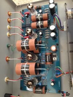 Canary CA 430 all tube phono stage with Jupiter Copper Foil caps