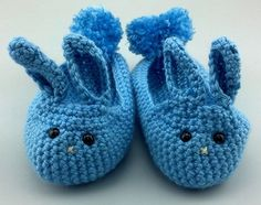 Crochet Todays March Hare Slippers