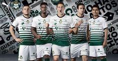 Camisas do Santos Laguna 2017-2018 Puma