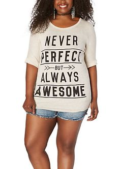Plus Always Awesome Dolman Top | rue21