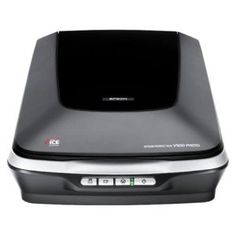 Epson Perfection V500 Photo Scanner.  Our favorite scanner!  There is so much to love about this photo scanner that you'll just have to try it for yourself.  It comes with the amazing Epson Easy Photo Fix software that actually color corrects your old photos as it scans them.  It actually restores the original color of 70s & 80s photos that have turned brown and orange.  Really!  Click on the image to check it out.