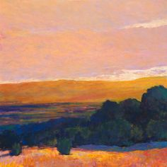 View to the Foothills, High Contrasts by Ken Elliott: Giclee Print available at www.artfulhome.com