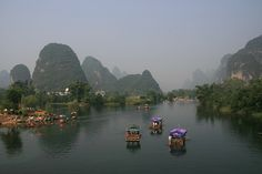 Guilin, near my daughter's home city of Guiping