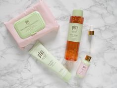 pixi gift of glow tonic mud cleanser rose oil blend