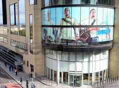 Post with 0 votes and 4197 views. GTA V poster outside Rockstar Edinburgh office. Gta 5 Online, Rockstar Games, Grand Theft Auto, Video Game Art, Edinburgh, Videogames, The Outsiders, Gaming, Awesome