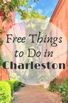 FREE Things to Do in Charleston – Quick Whit Travel What To Do Before You Travel Before I go on a brand new trip, whatever the reason, stress does not fall South Carolina Vacation, Charleston South Carolina, Charleston Sc Things To Do, Places To Travel, Places To Go, Folly Beach, Vacation Spots, Vacation Ideas, Italy Vacation