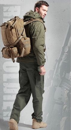 """- Material: 1000D Waterproof Nylon - Dimension: - Main Compartment 20"""" X 12.5"""" X 7 """" - 2nd front Pocket 14"""" X 11"""" X 2.7 """" - The Backpack is constructed with waterproof 1000D Nylon material. - Molle de"""